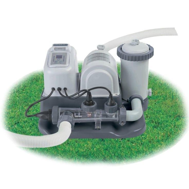 Intex Filteranlage - Krystal Clear Cartridge Filter Pumpe & Salzwassersystem Art.-Nr.: 28674
