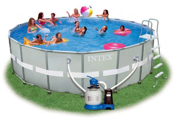 Intex Ultra Frame Pool Komplett-Set 549 x 132 cm