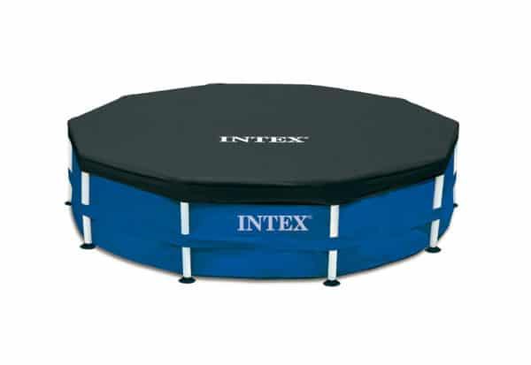 Intex Metal Frame Pool Komplett-Set 457 x 107 cm