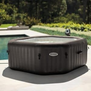 "Intex Whirlpool intex SPA  79"" Octagon jet - Bubble, Deluxe Massage Set & Salzwassersystem 28456"