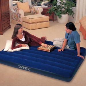 INTEX Luftbett Pillow Rest Classic Bed Queen 203//152//23 cm 66769