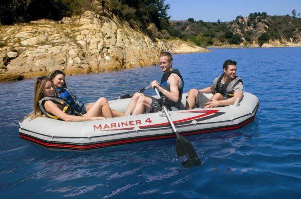 """Intex Boot - Schlauchboot Set """"Mariner 4"""" 328 x 145 cm - Art.Nr.: 68376NP (Boote)"""