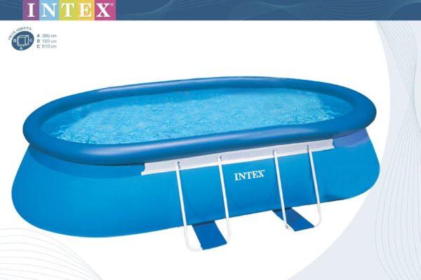 Intex Poolfolie / Ersatzfolie -Oval Frame 610x366x122cm