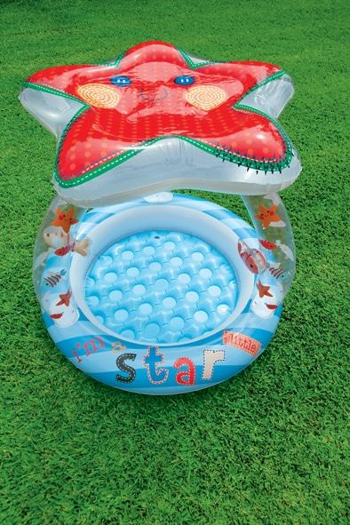 Intex Baby Pool Lil Star mit Dach (Poolparty)