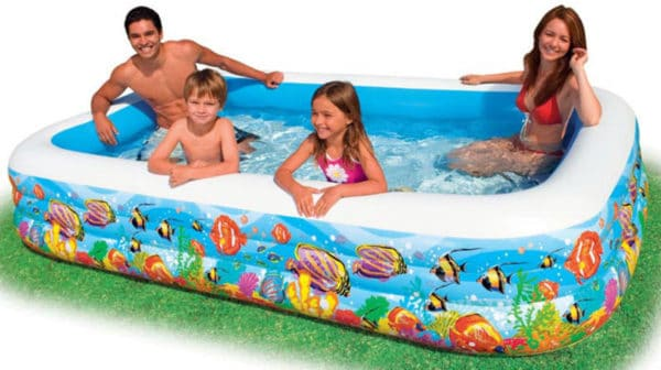 Intex Schwimm Center Family Pool Tropical Reef