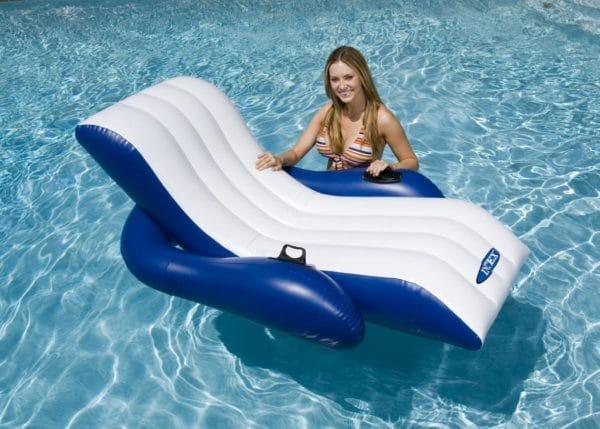Intex Pool Schwimmbad Matratze Lounge +Getränkehalter