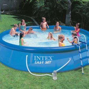Intex Easy Set Pool 457 x 91 cm mit Filteranlage 54914GS
