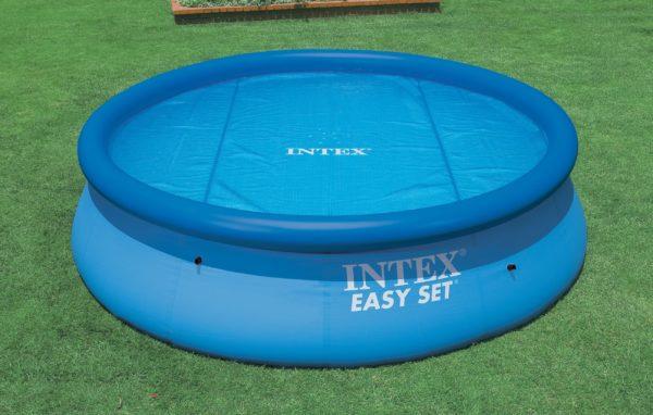 Intex Pool - Solarabdeckplane für Intex Easy & Frame Pool 549 cm