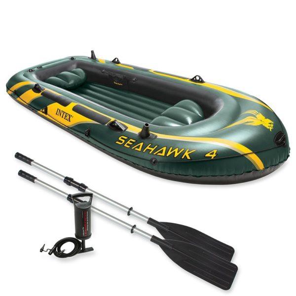 Intex - Schlauchboot Set Seehawk 4 68351NP