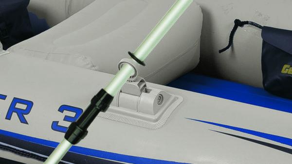 Intex Schlauchboot - Mariner 3 Boot mit Ruder und Pumpe. Art. Nr. 68373NP (Boote)