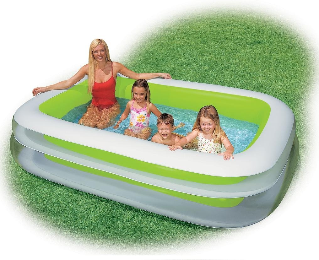 Intex Familien Pool grün 262x175x56cm