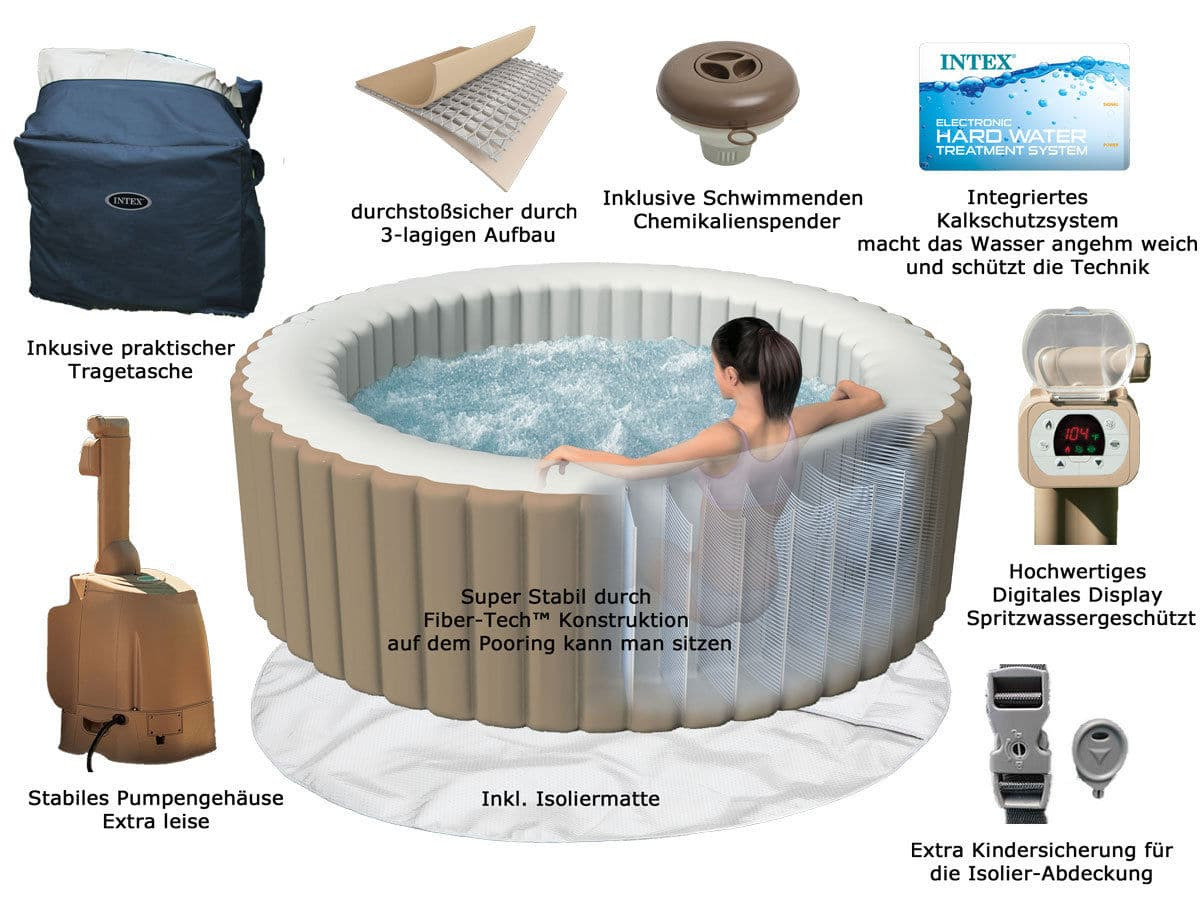 Intex Whirlpool intex SPA  Pure Bubble Therapy