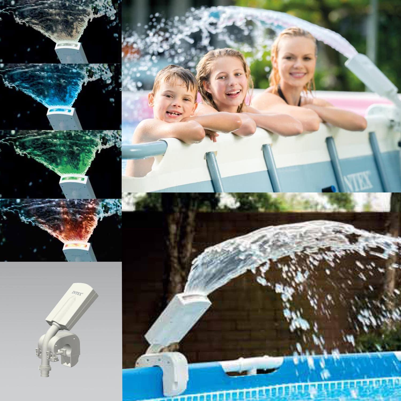 Intex Pool Multi-Color LED Pool Sprayer Wasserfontäne