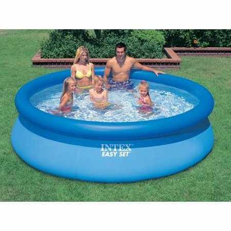 INTEX Swimming Poolfolie Ersatzfolie 366 x 91- 10319 (NUR POOL)