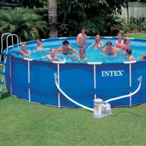 Intex Metal-Frame - Pool Komplett-Set 549 x 122 cm