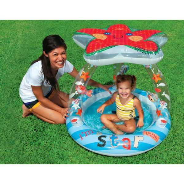 Intex Baby Pool Lil Star mit Dach (Poolparty)