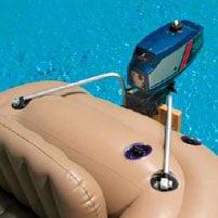 INTEX Schlauchboot - Außenbordmotor-Befestigung