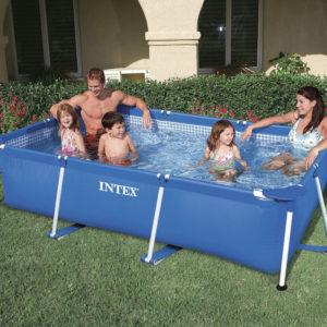 Kurzübersicht INTEX Family Pool - 28271  Rechteck-Pool FAMILY 260 x 160 x 60 cm ohne Filterpumpe