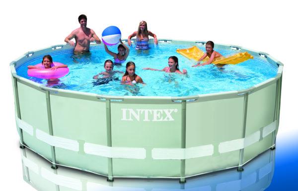Frame Pool Set Ultra Rondo Ø 488 x 122 cm