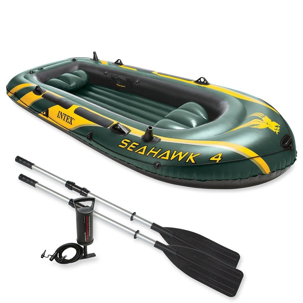 Intex - Schlauchboot Set Seehawk 4 68351NP