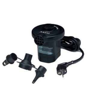 Intex Schlauchboot - Quick-Fill elektrische Pumpe mit 3 verbundenen Düsen (220-240 Volt) Art.-Nr.: 66620 (Zub-Motorbefestigung)